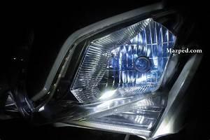 Komparasi Sinar Headlamp Vario 125 Vs Projie Led 10 Watt