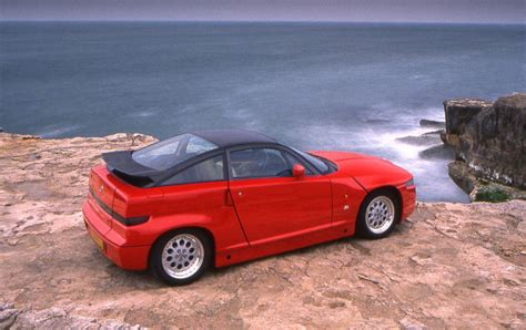 If You Thought The 4c Was Radical, Get A Load Of The Alfa Sz