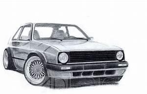 Vw Golf Mk2  Badesign