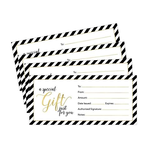 4 5 x 11 gift card template 25 4x9 blank gift certificate cards for business