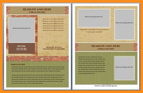 Microsoft Word Flyer Templates by 12 13 Microsoft Word Handout Templates Lascazuelasphilly