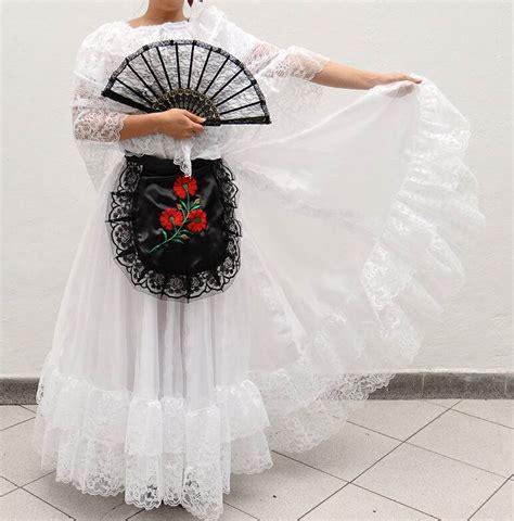 Vestido de Veracruz escolar Vestido de veracruz