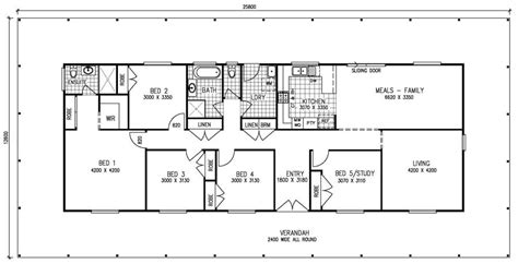 5 bedroom single house plans 5 bedroom house plans 1 house design plans