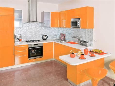 Orange Kitchens  Positive And Uplifting Feel