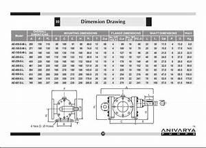 Gear Dimensions Drawing