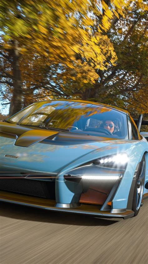 wallpaper forza horizon  mclaren senna  games