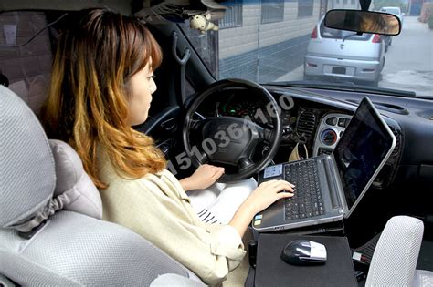 lap desk for car laptop stand ok830 free shipping folded car laptop table