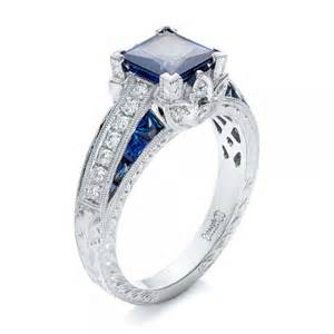 chagne sapphire engagement rings custom jewelry engagement rings bellevue seattle joseph jewelry