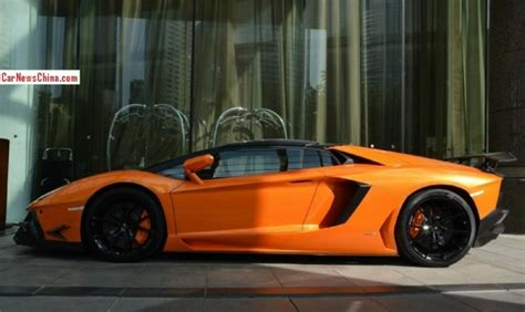lamborghini aventador sv roadster limited edition spotted in china dmc lamborghini aventador lp 900 sv limited edition roadster carnewschina com