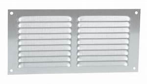 Grille De Ventilation Nicoll : grille de ventilation aluminium visser rectangulaire ~ Dailycaller-alerts.com Idées de Décoration