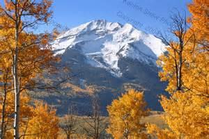 Fall Mountain Landscape Colorado