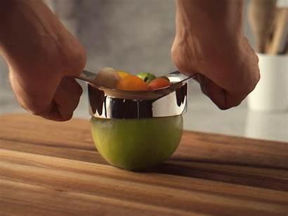 Salad Fruit Making Brikk Onion Dribbble Gifs