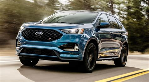 2019 ford suv 2019 edge st revealed ford s performance suv