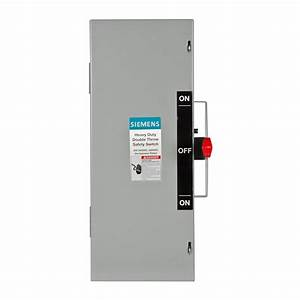 Siemens Double Throw 30 Amp 240