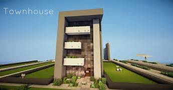 show homes interior design modern townhouse minecraft project