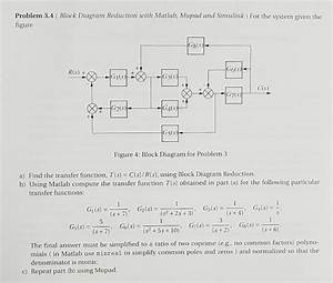 Problem 3 4   Block Diagram Reduction With Matlab