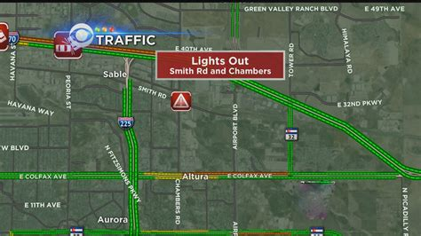 power outage affects rtd lights crossing cbs denver