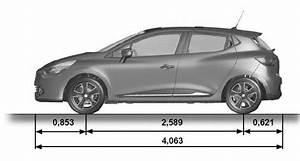 Dimensions Renault Clio : renault clio dimensions technical specifications renault clio owners manual ~ Medecine-chirurgie-esthetiques.com Avis de Voitures