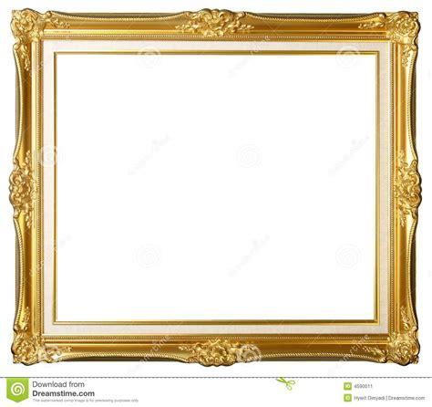 cadre de tableau d or de cru image stock image 4590011