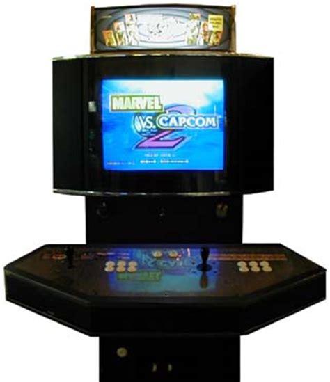 capcom arcade cabinet marvel vs capcom 2 new age of heroes videogame by capcom