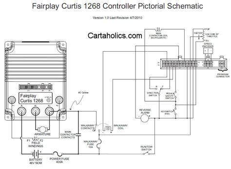 fairplay golf cart wiring diagram   controller