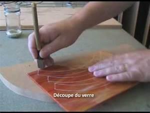 Découpe De Verre Sur Mesure : vitrail d coupe du verre stage vitrail youtube ~ Dailycaller-alerts.com Idées de Décoration