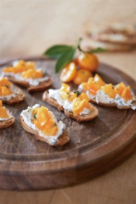 goats cheese canape recipes canapes small bites for celebratory moments