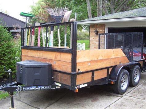 hpsinc equipment  landscape trailers lawn trailer
