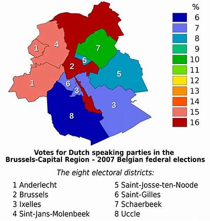 Political Parties Capital Map Region Wikipedia Brussels