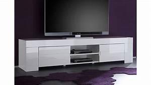Tv Möbel Lowboard Weiß : tv lowboard eos wei echt hochglanz lackiert 2 t ren ~ Indierocktalk.com Haus und Dekorationen