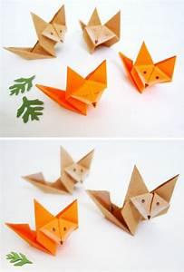 Origami Animaux Facile Gratuit : 49 id es en photos comment cr er un pliage origami facile ~ Dode.kayakingforconservation.com Idées de Décoration