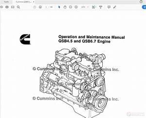 Diagram  Cummins Qsb4 5 Cm850 Ecm 4021524 02 Wiring