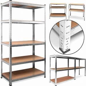 Crémaillère étagère Charge Lourde : tag re charge lourde metallique rangement objets lourds ~ Premium-room.com Idées de Décoration