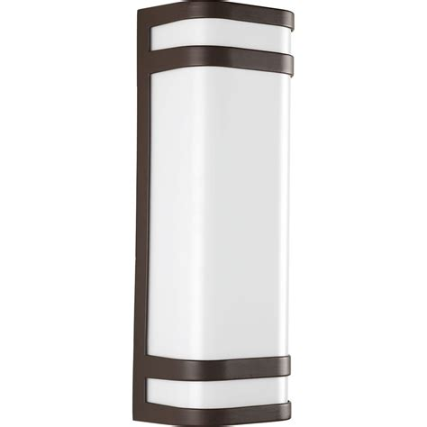 progress lighting valera collection 2 light architectural bronze led wall sconce the home
