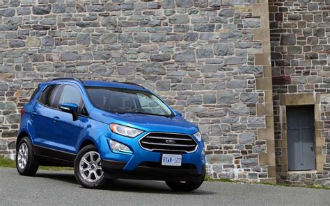 Ford's All-new 2018 Ecosport Compact Suv