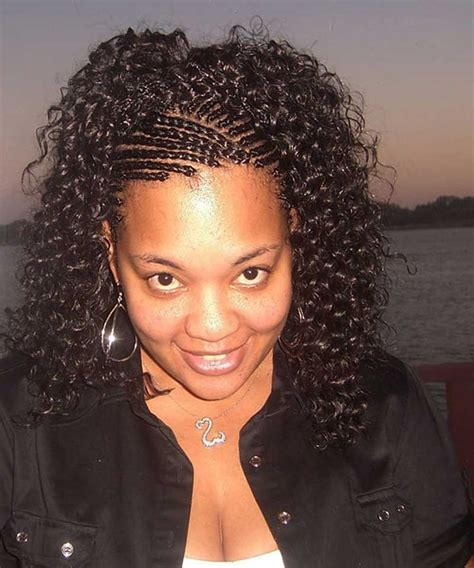 pinterest african braided hairstyles extension cornrow