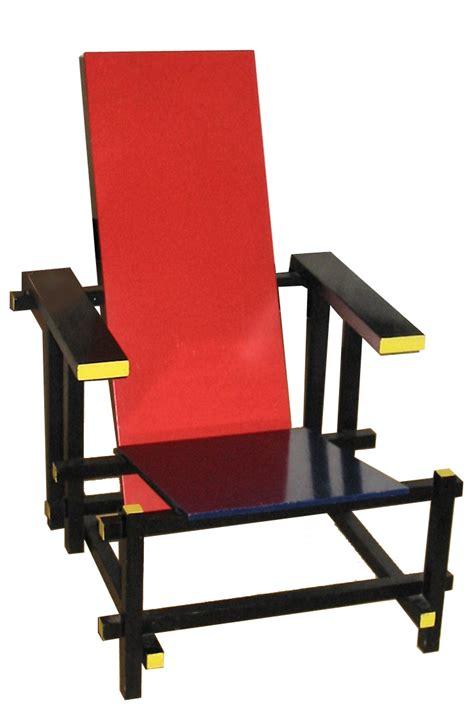 la chaise et bleue de stijl