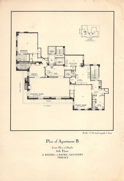 park avenue brochure nyc apartments townhouse