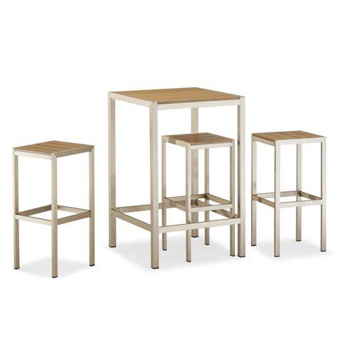 tavolo con sgabelli tt27 per bar e ristoranti set per bar con un tavolo