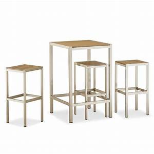Tisch Mit Hocker : tt27 f r bars und restaurants set mit tisch und 2 hocker ~ Lateststills.com Haus und Dekorationen