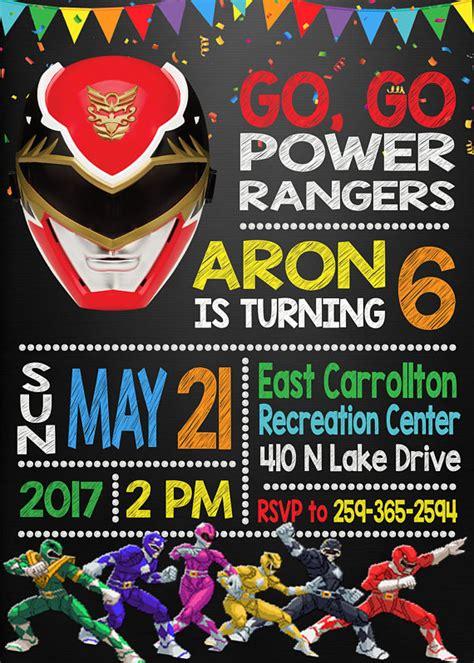 power ranger invitations template 13 power rangers ideas pretty my