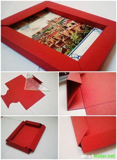 3d bilderrahmen mit origami selber falten ohne kleber selbermachen basteln