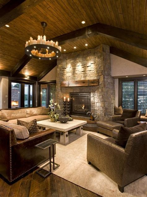 living room ideas with fireplace rustic living room decor ideas tips for choosing the Rustic