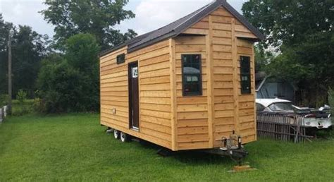 25 tiny house for sale unfinished shell
