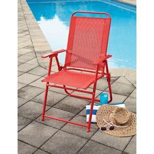 Essential Garden Patio Furniture essential garden color sling folding chair outdoor