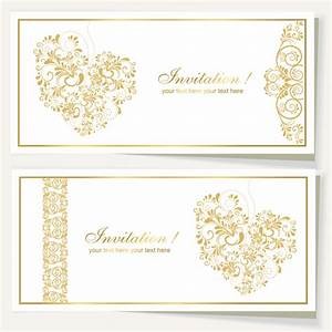 Elegant wedding invitation cards designs yaseen for for Elegant wedding invitations eps