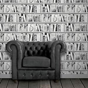 Décolleuse De Papier Peint : papier peint intiss biblioth que brooklyn gris fonc ~ Dailycaller-alerts.com Idées de Décoration