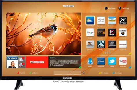 smart tv kaufen telefunken d43f287m3cw led fernseher 110 cm 43 zoll 1080p hd smart tv kaufen