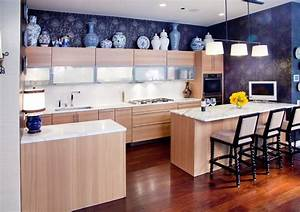 Kitchen above cabinet decorating ideas kitchen traditional