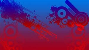 Red and blue background hd